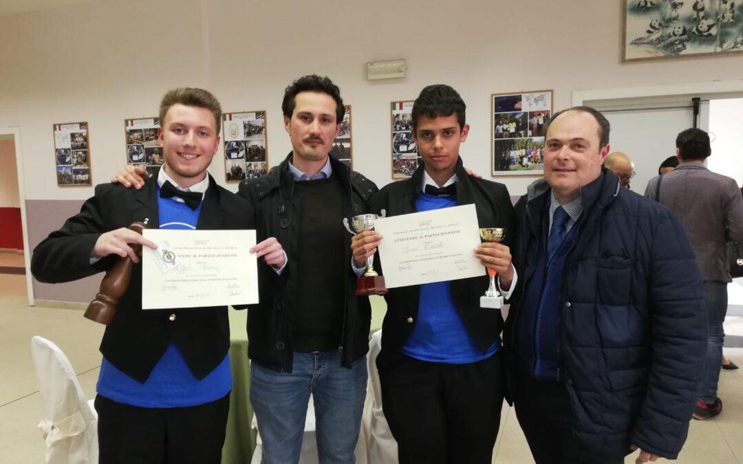 Congratulazioni a Riccardo e Thomas