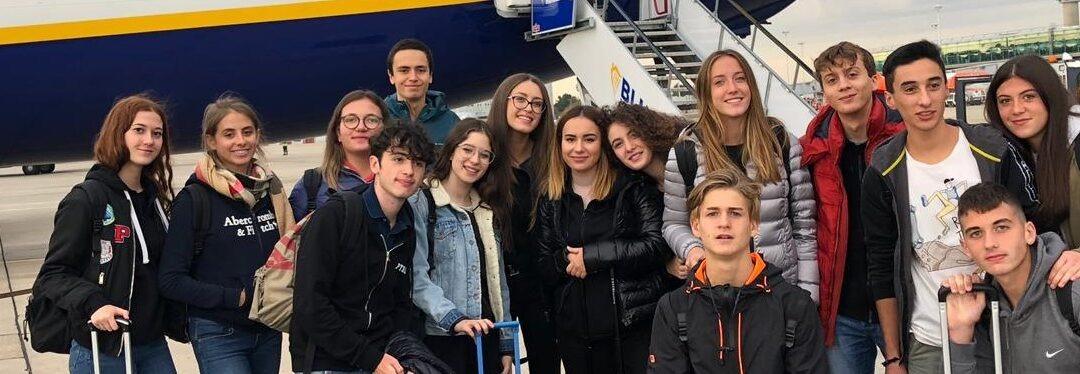Gli studenti della 4B Liceo Scientifico a Bury ST. Edmunds